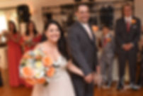 Stephanie and Jacob are introduced during their June 2018 wedding reception at Foster Country Club in Foster, Rhode Island.