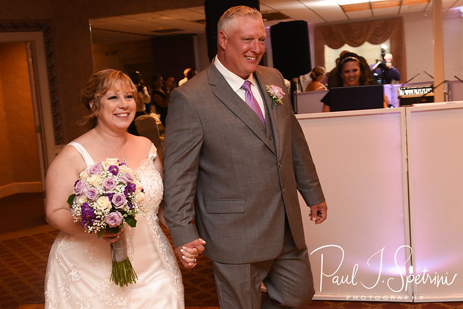 Robin and Rick are introduced during their August 2018 wedding reception at Twelve Acres in Smithfield, Rhode Island.