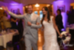 Beth & Bryan are introduced during their August 2018 wedding reception at McGovern's on the Water in Fall River, Massachusetts.