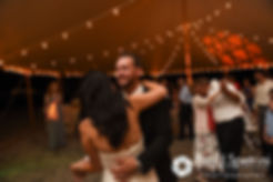 Lauryn and Justin dance during their July 2016 wedding reception at the Overlook at Geer Tree Farm in Griswold, Connecticut.