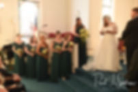 Cara reads her vows and gives a message to her stepdaughter during her November 2018 wedding ceremony at First Baptist Church in Hope Valley, Rhode Island.