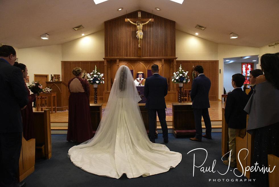 Our Lady of Mt Carmel wedding photos