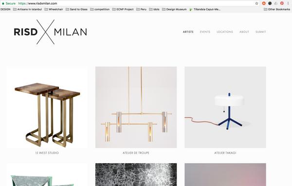 RISD x MILAN