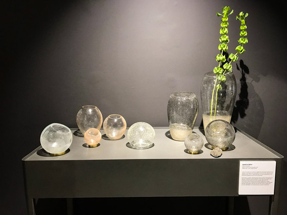 New Sand to Glass products for the exhibition