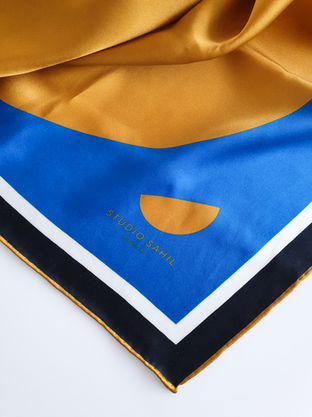 Studio Sahil scarf detail