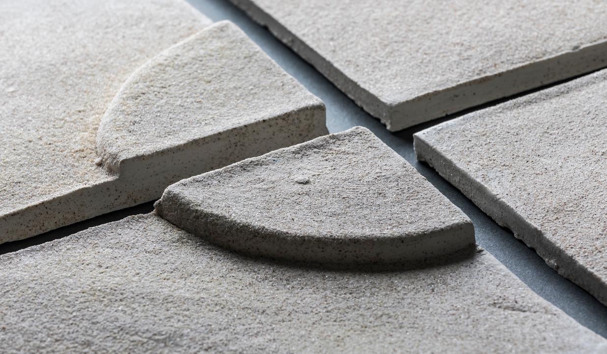 Ceramic tiles detail