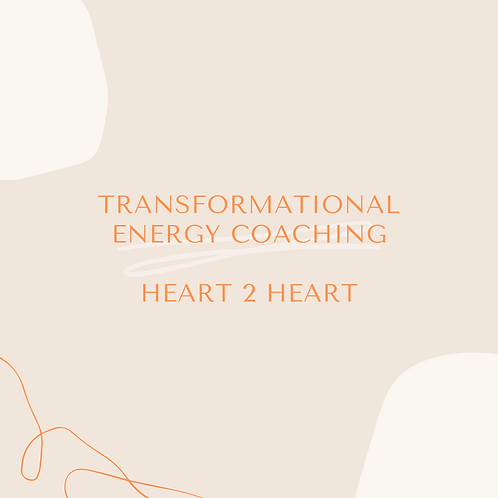 1 on 1 Transformational Energy Coaching