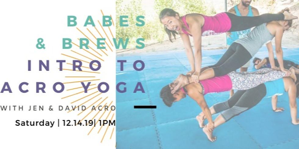 Intro to Acro Yoga with Jen & David Acro