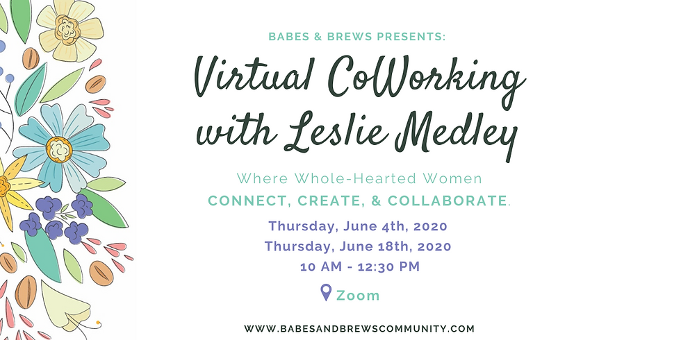 Virtual Coworking with Leslie Medley