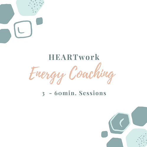 3 Energy Coaching Sessions
