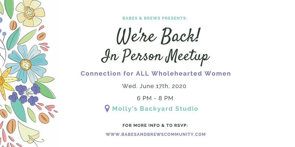 IN-PERSON Babes & Brews Meetup