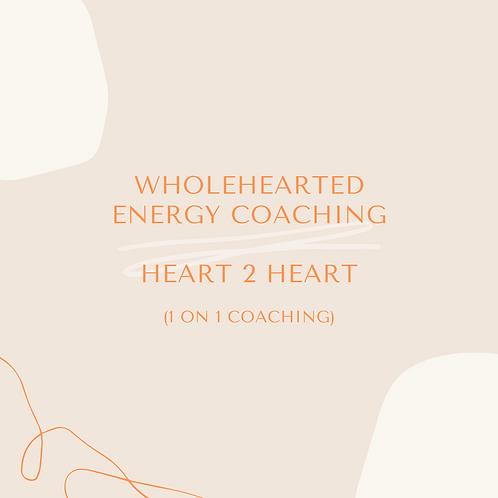 WholeHearted Energy Coaching - Single Session