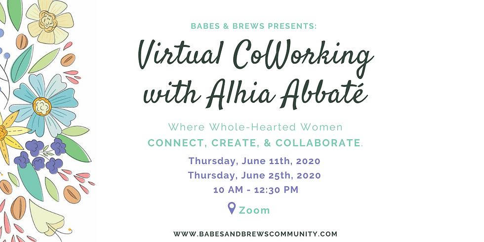 Virtual Coworking with Alhia Abbate