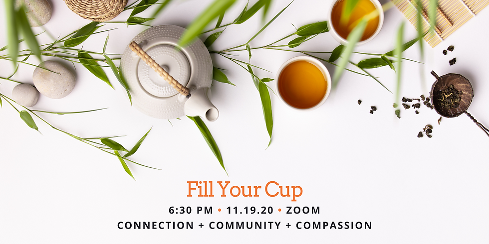 Fill Your Cup Virtual Event: Grace & Gratitude