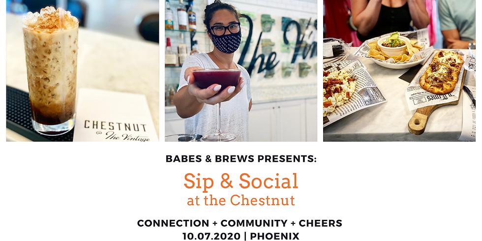 Sip & Social at the Chestnut
