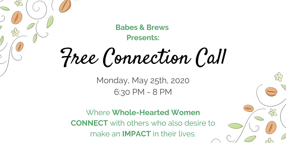 FREE Community Connection Call