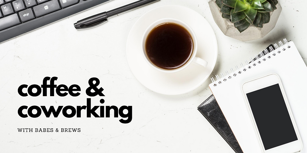 Coffee & Coworking --a virtual space to connect & create