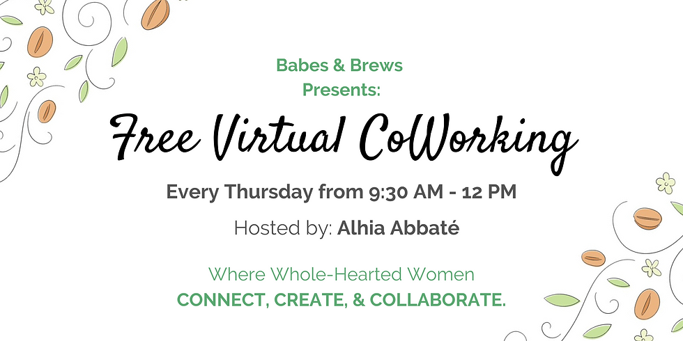 FREE Virtual CoWorking