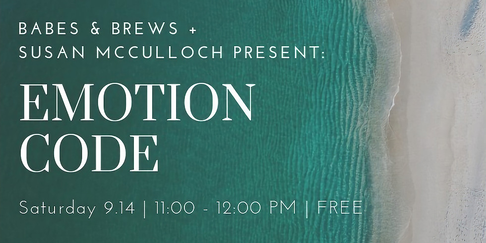 Emotion Code Workshop with Susan McCulloch