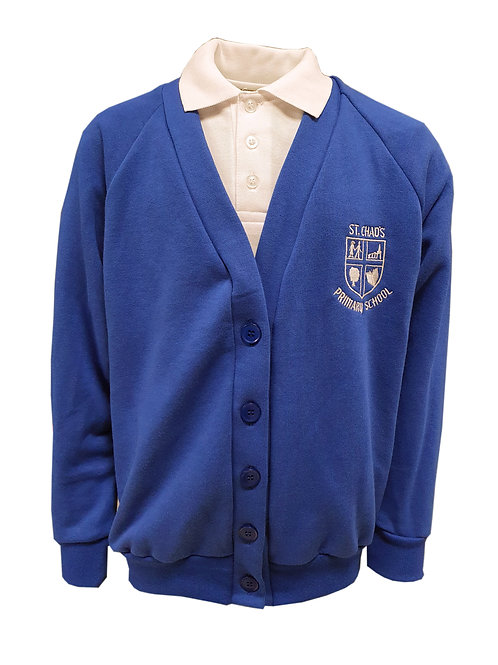 ST CHAD'S smart UNIFORM CARDIGAN