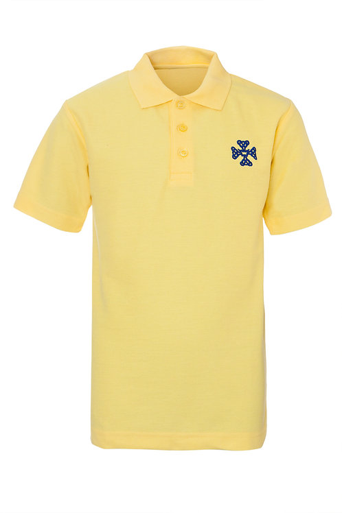 OUR LADY & ST. WERBURGH'S YELLOW smart POLOS