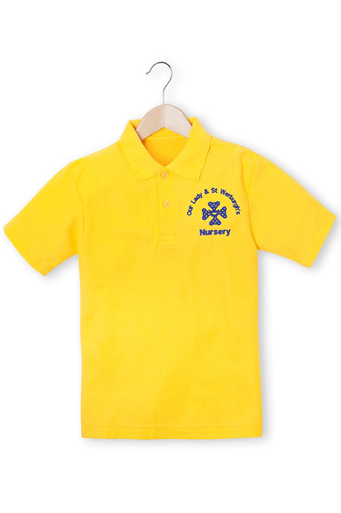 OUR LADY & ST. WERBURGH'S NURSERY GOLD smart POLOS