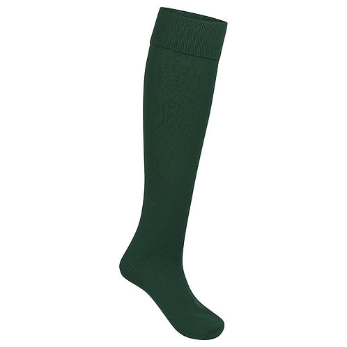 BOTTLE GREEN FOOTBALL SPORTS SOCKS