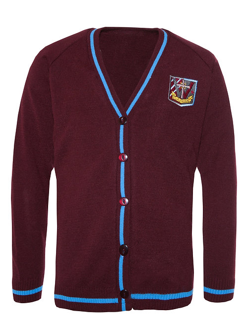 ST WILFRID'S smart KNITTED CARDIGAN