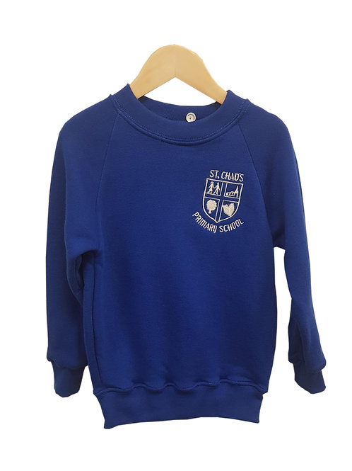 ST CHAD'S smart UNIFORM CREW NECK