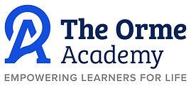 The Orme Academy - Logo on Light - 05062