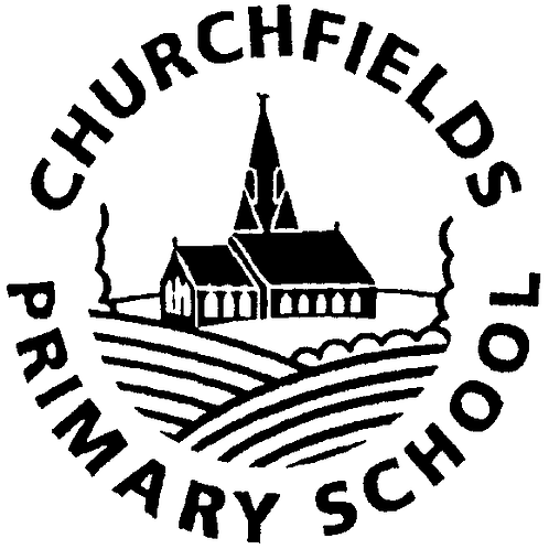 CHURCHFIELDS PRIMARY CLIP ON HOUSE TIE