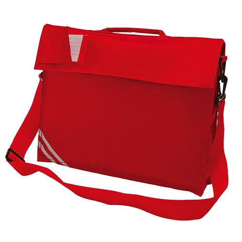 RED PLAIN SHOULDER BAG