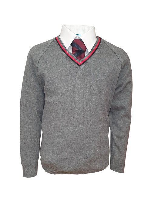 ST JOSEPHS COLLEGE 50/50 VEE NECK