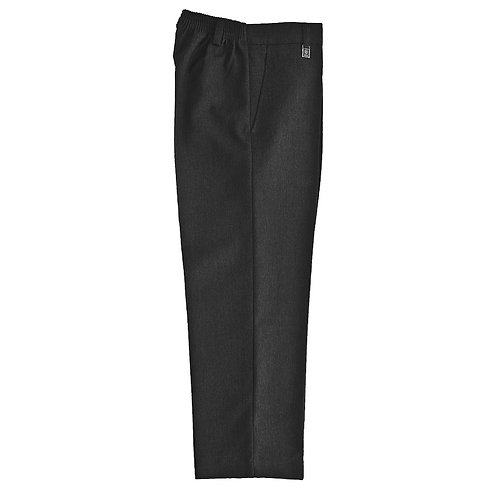 Zeco JUNIOR BOYS CHARCOAL STANDARD FIT TROUSERS