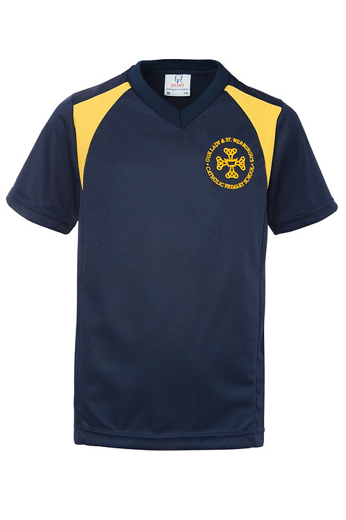 OUR LADY & ST. WERBURGH'S SPORTS SHIRTS