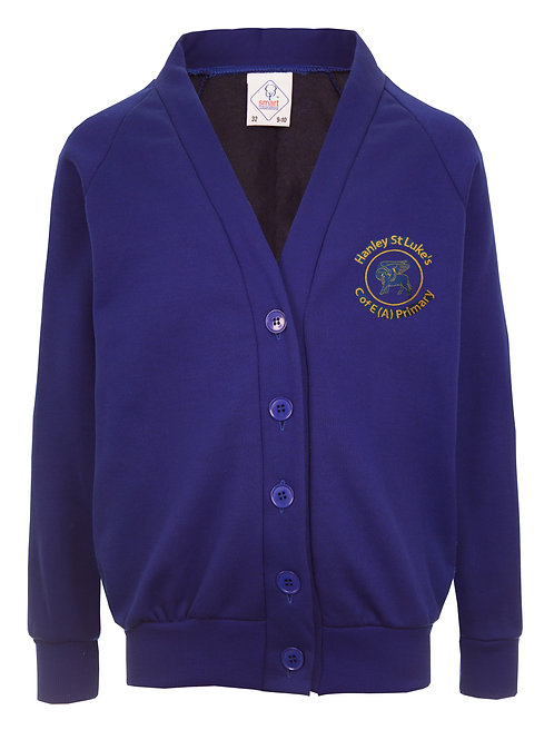 HANLEY ST LUKE'S smart COLOURFAST CARDIGAN