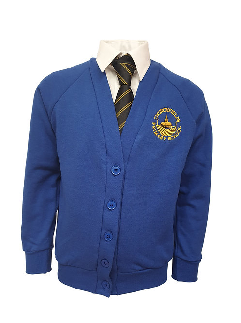 CHURCHFIELDS PRIMARY smart UNIFORM CARDIGAN