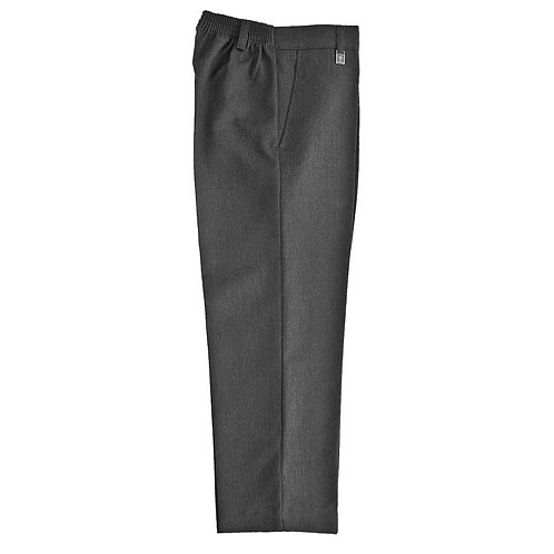 Zeco JUNIOR BOYS GREY STANDARD FIT TROUSERS