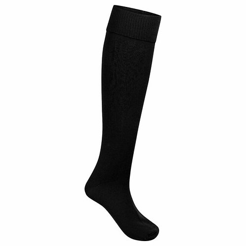 BLACK FOOTBALL SPORTS SOCKS