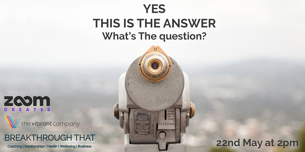 Yes - What's the question?