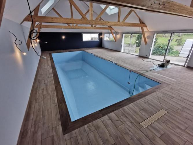 Maison bois, ossature bois, charpente, Lanouée, Morbihan