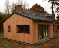 Maison bois, ossature bois, Vannes, Morbihan