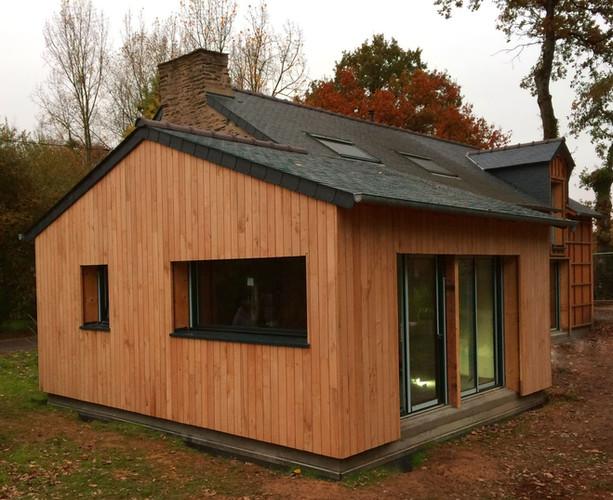 Maison bois, ossature bois, Morbihan