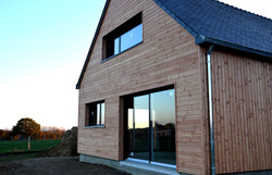 Maison bois, ossature bois, Chapelle Caro, Morbihan