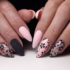 Темно-коричнивый с розовым