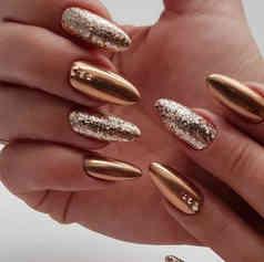 Золото с бронзой
