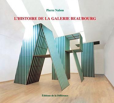 Histoire galerie beaubourg Pierre Nahon