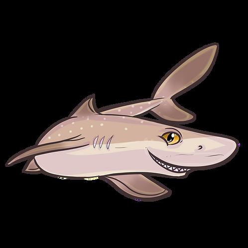 Dogfish Shark Sticker
