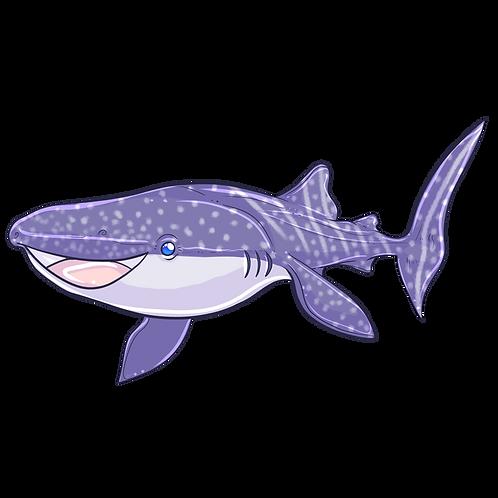 Whaleshark Magnet