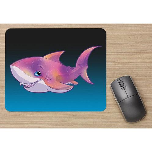 Galaxy Shark Mousepad